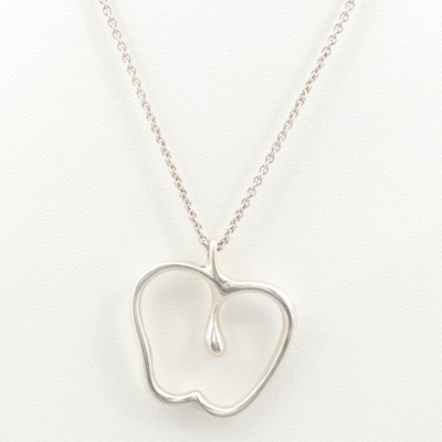 Elisa Peretti for Tiffany & Co. Sterling Silver Heart Necklace