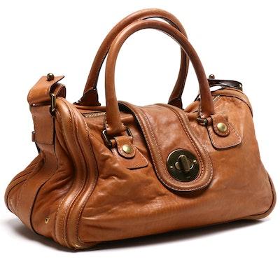 Chloé Brown Leather Ava East-West Shoulder Bag