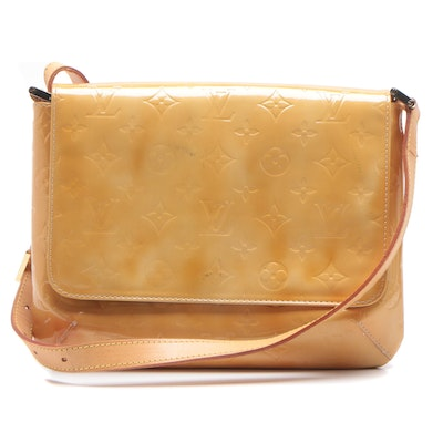 Louis Vuitton Mango Vernis Leather Thompson Shoulder Bag