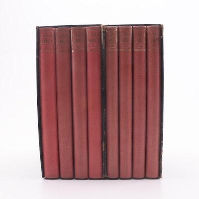 "1940 ""The Memoirs of Jacques Casanova"" by Giacomo Casanova Eight Volume Set"