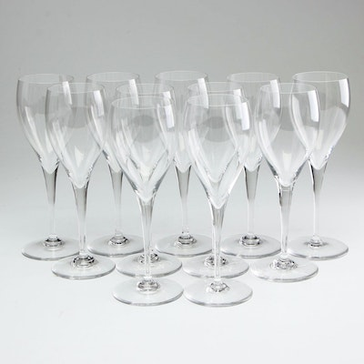 Baccarat Crystal Tulip Glasses