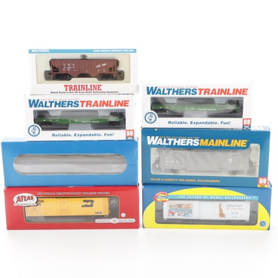 Atlas, Walthers, Trainline and Atheann HO Scale Model Trains