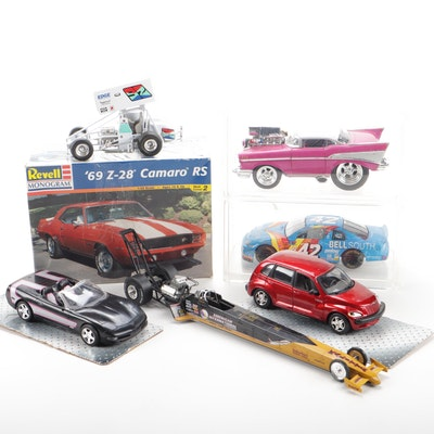 Revell '69 Z-28 Camaro, Racing Champions Die-Cast & other Vehicles