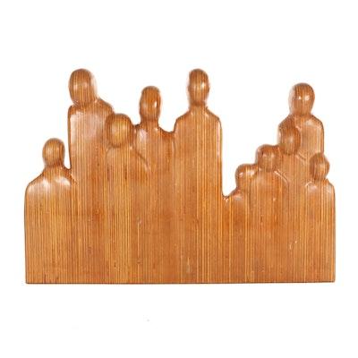 George Turner Figural Wood Sculpture