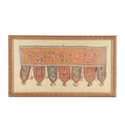 Handmade and Embroidered Indian Toran Door Valence