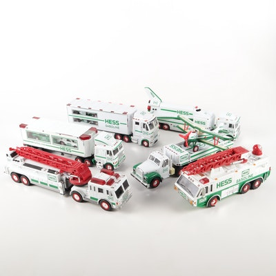 Vintage Hess Electronic Truck Collection