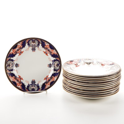 Antique Derby Crown #1270 Salad Plates