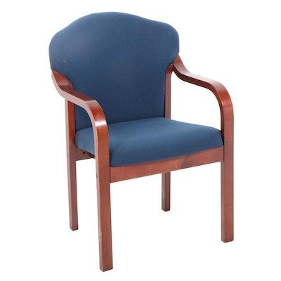 Kimball Wood Frame Upholstered Chair