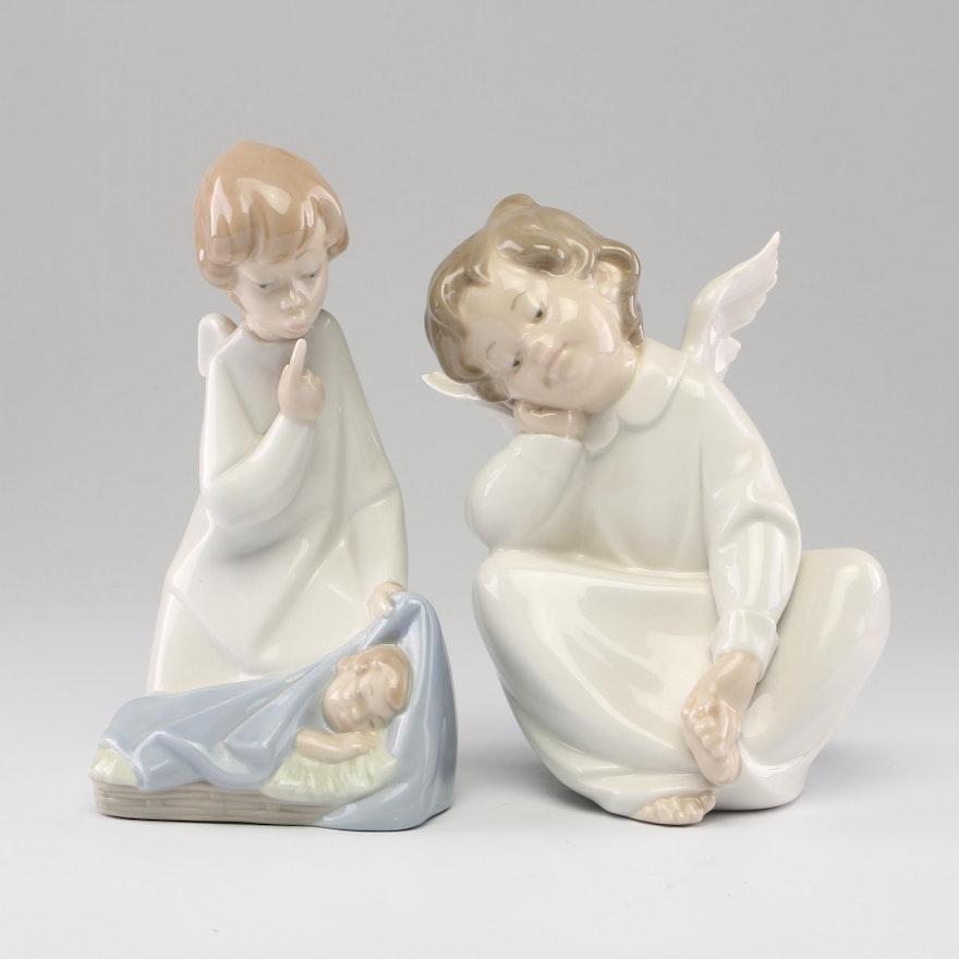Lladró Angel Porcelain Figurines