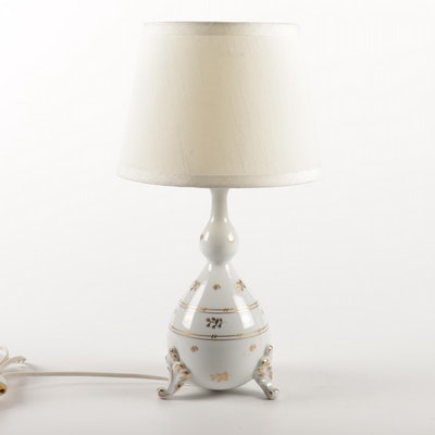 Herend Hungary Porcelain Table Lamp