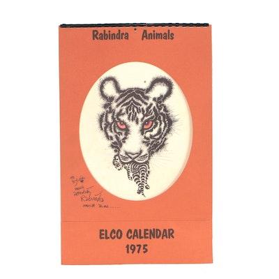 1975 Elco Offset Lithograph Calendar