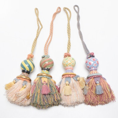 MacKenzie Childs Decorative Tassels, Late 20th Century