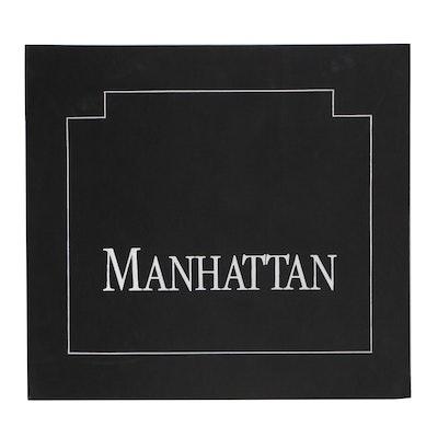 "Thomas McKnight Serigraph Portfolio ""Manhattan"""