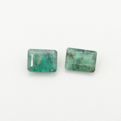 Loose 3.88 CT Emerald Gemstone