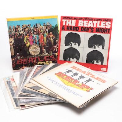Beatles Vinyl LPs, Mid-Century