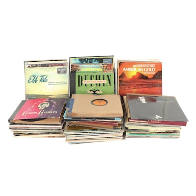 Collection of Gospel, Vocalist and Soundtrack Records