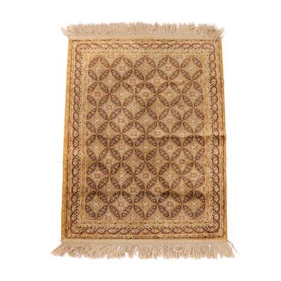 Power Loomed Persian Inspired Wool Rug