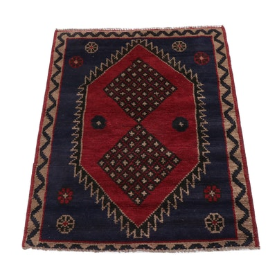 Hand-Knotted Persian Qashqai Rug