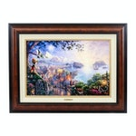 "Hand Embellished Giclée After Thomas Kinkade ""Pinocchio Wishes Upon a Star"""