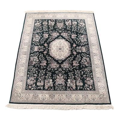 Power Loomed Indo-Persian Mashhad Wool Rug