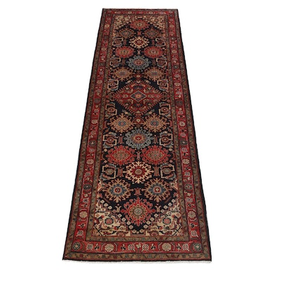 3'4 x 10'4 Hand-Knotted Northwest Persian Carpet Runner