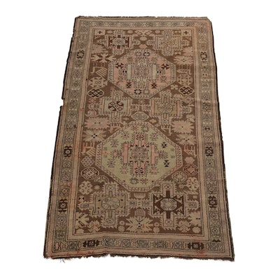 3'7 x 6'8 Hand-Knotted Northwest Persian Rug, circa 1910