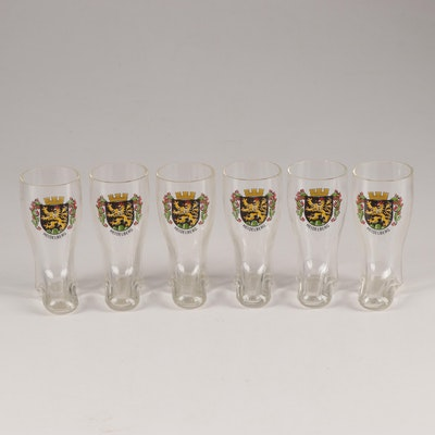 Heidelburg Boot Shaped Schnapps Glass Set