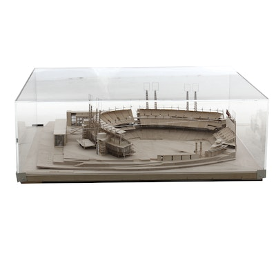 1998 MSA Architects Scale Model of Great American Ball Park