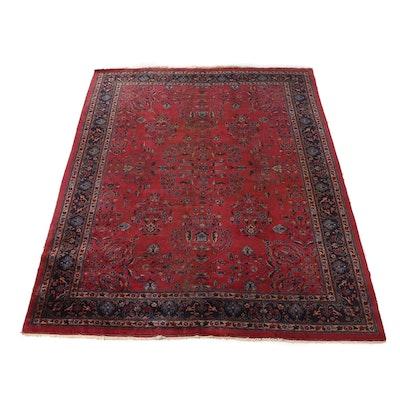 Hand-Knotted Turkish Isparta Wool Room Sized Rug