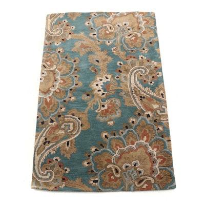 """Tufted Surya """"Sea"""" Indian Wool Area Rug"""