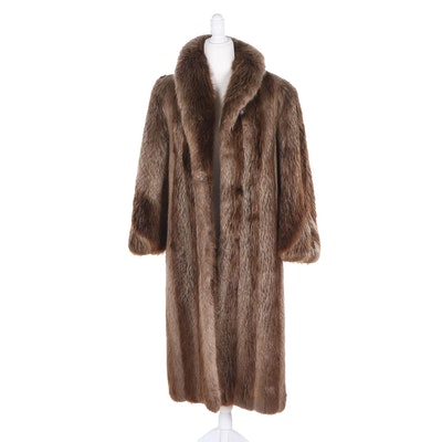 Kakas Raccoon Fur Coat, Vintage