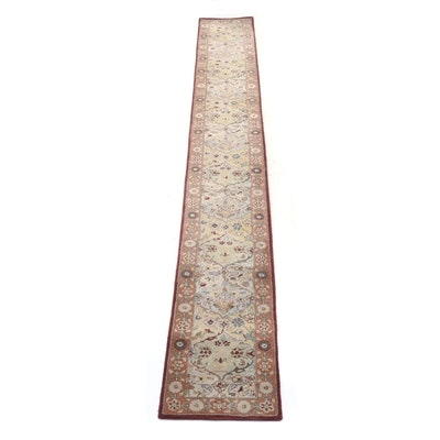 "Tufted Safavieh ""Heritage"" Indian Tufted Wool Carpet Runner"