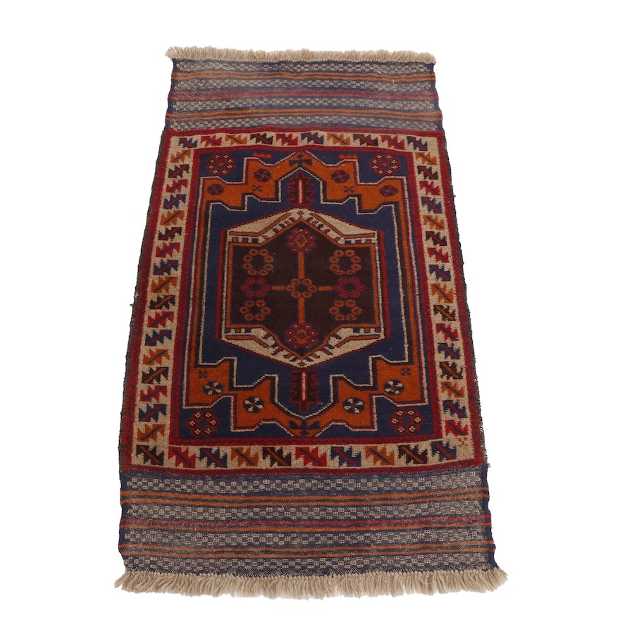 Hand-Knotted Anatolian Wool Rug