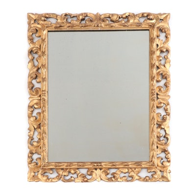 Ornate Gilt Gesso Wall Mirror