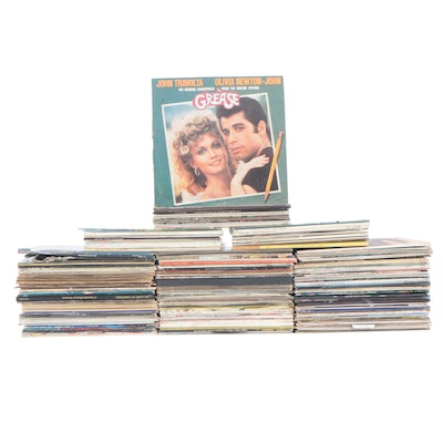 "Soundtracks, Holiday, Rock and Other Records Including ""Grease"""