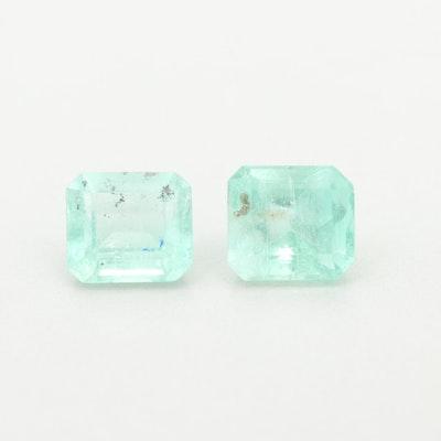 Loose 1.85 CTW Emerald Gemstone