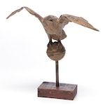 Gilt Eagle Weathervane Finial, 19th Century
