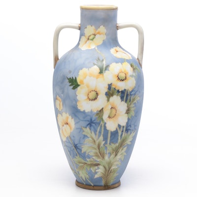 Morimura Brothers Nippon Porcelain Vase, Early 20th Century