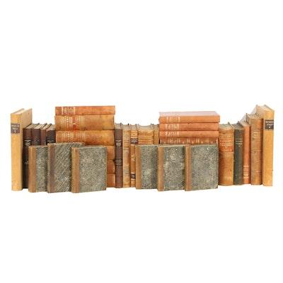 Assorted 1900s Swedish Hardcover Books