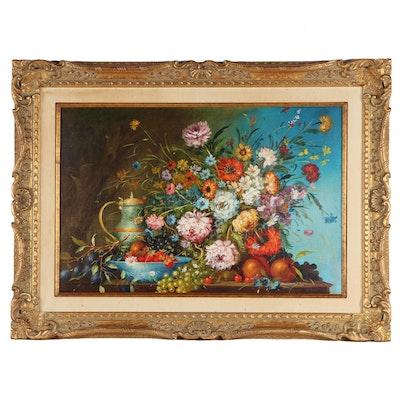 Galli Still Life Oil Painting