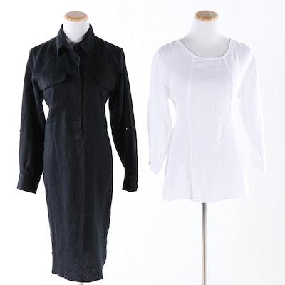 Linen Blouses, Skirts and Shirtdress Featuring Lauren by Ralph Lauren