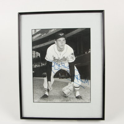 Brooks Robinson Autographed Framed Photograph