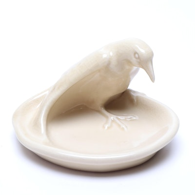 "Rookwood Pottery ""Rook Pin Dish,"" 1949"