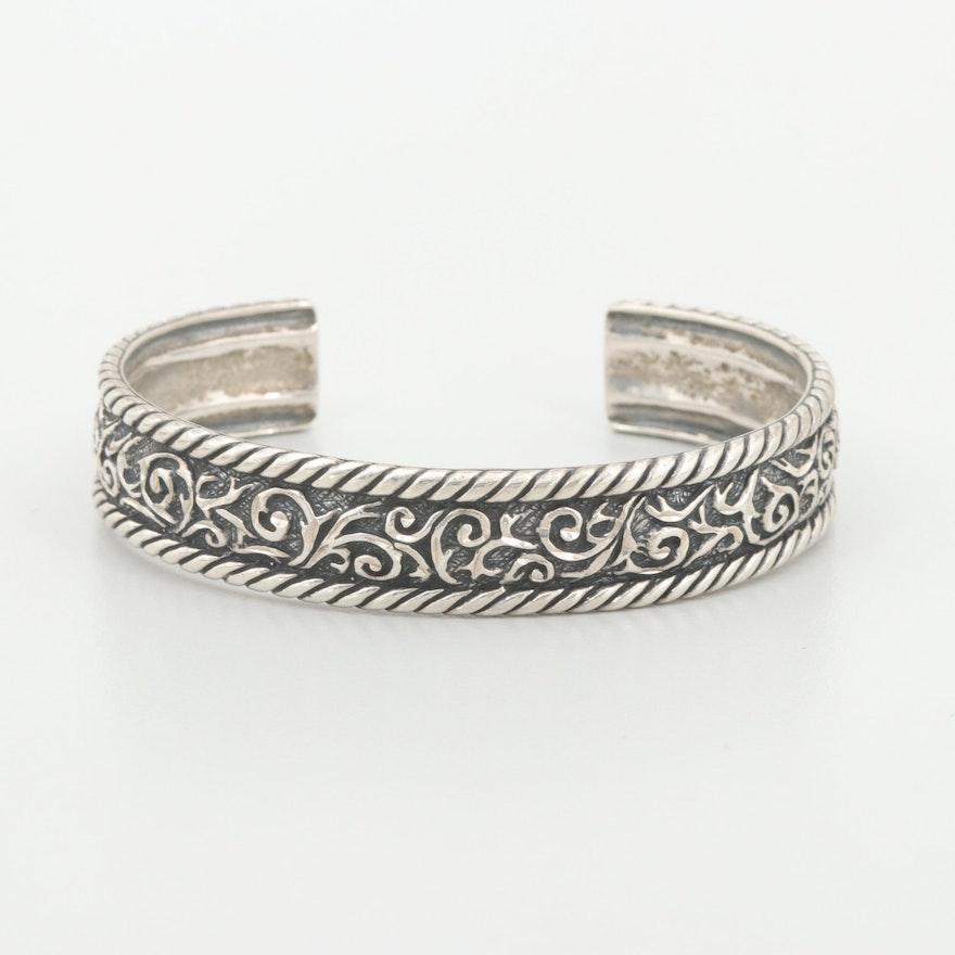 Relios Sterling Silver Cuff Bracelet