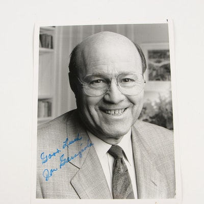 Joe Garagiola, Sr. Autographed Photograph