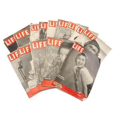 """Mid-Century """"Life"""" Magazines including WWII Era"""