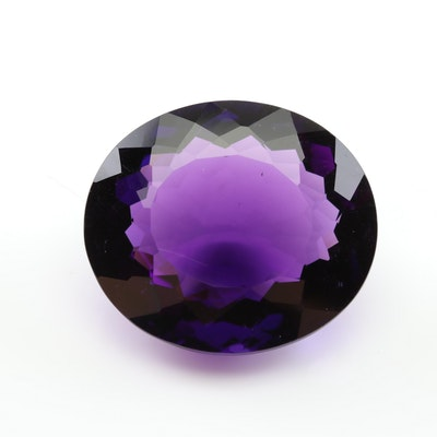 Loose 39.36 CT Amethyst Gemstone