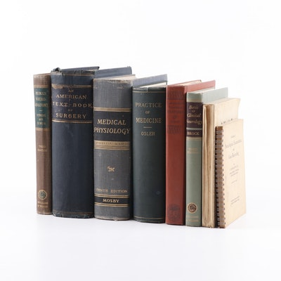 Vintage and Antique Medical Books