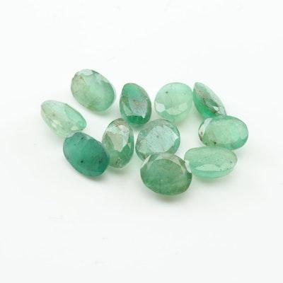 Loose 8.82 CTW Emerald Gemstone