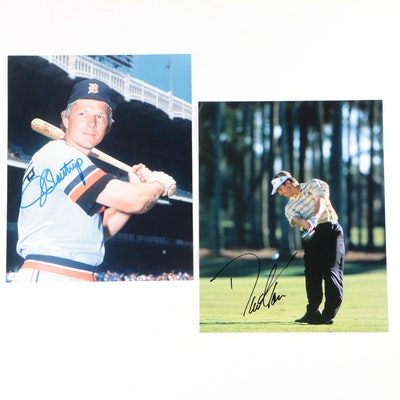 Jim Northrup and David Toms Autographed Photographs